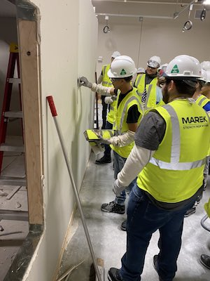 MAREK drywall students